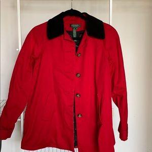 Ralph Lauren Red Jacket Size Small Petite